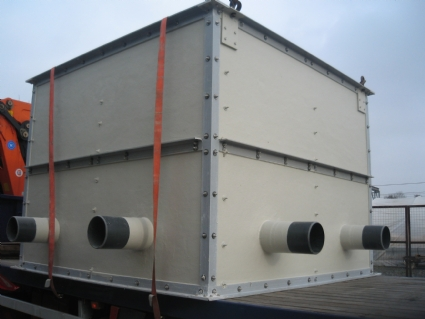 GRP Tanks for flow and storage